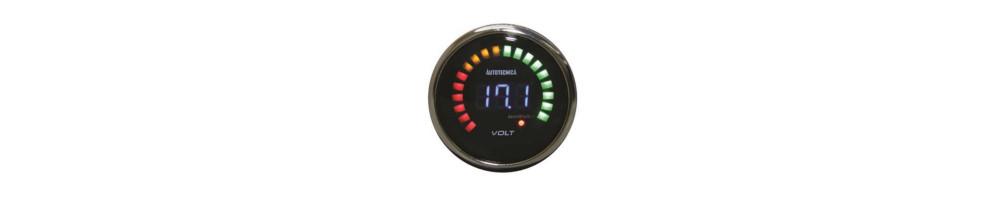Pressure gauge Voltmeter