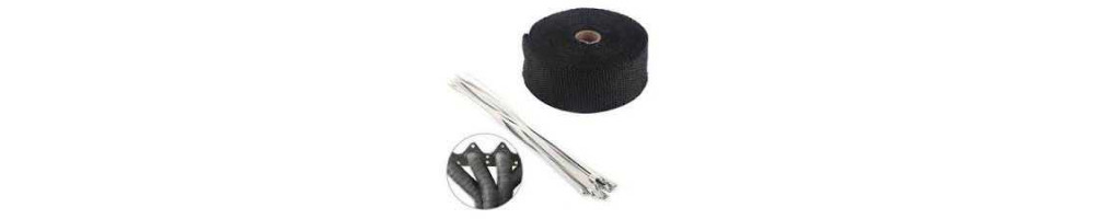 Insulation: Exhaust thermal protection tape, tape and plate