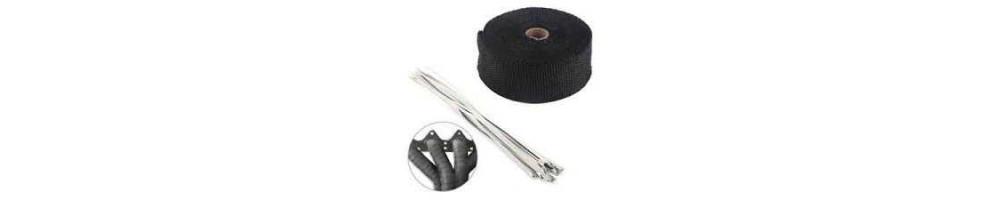 Isolant : Bande, ruban et plaque de protection thermique d'échappement