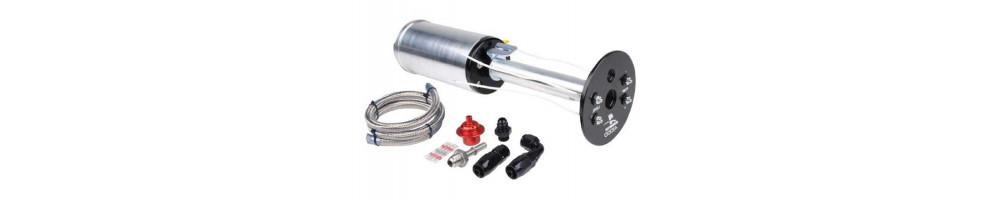 FUEL SYSTEM: high flow injectors, high flow pump, fpr, regulator, filter, high volume butterflies, carburetor