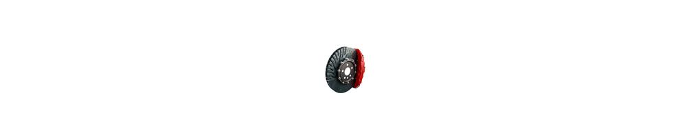 Braking: big discs kit, ebc, zimmermann pads, brake fluid, fitting, goodridge hose